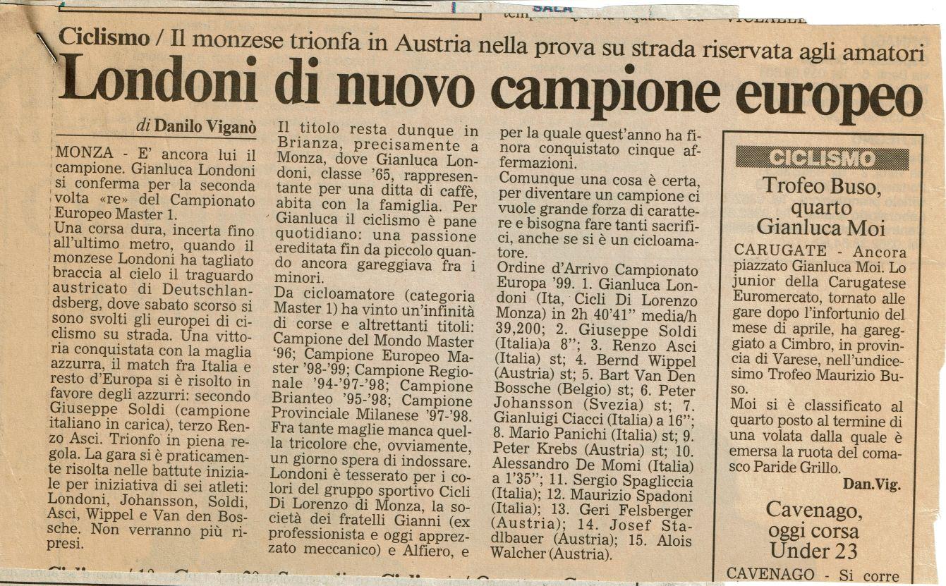 25 26 Agosto 1999