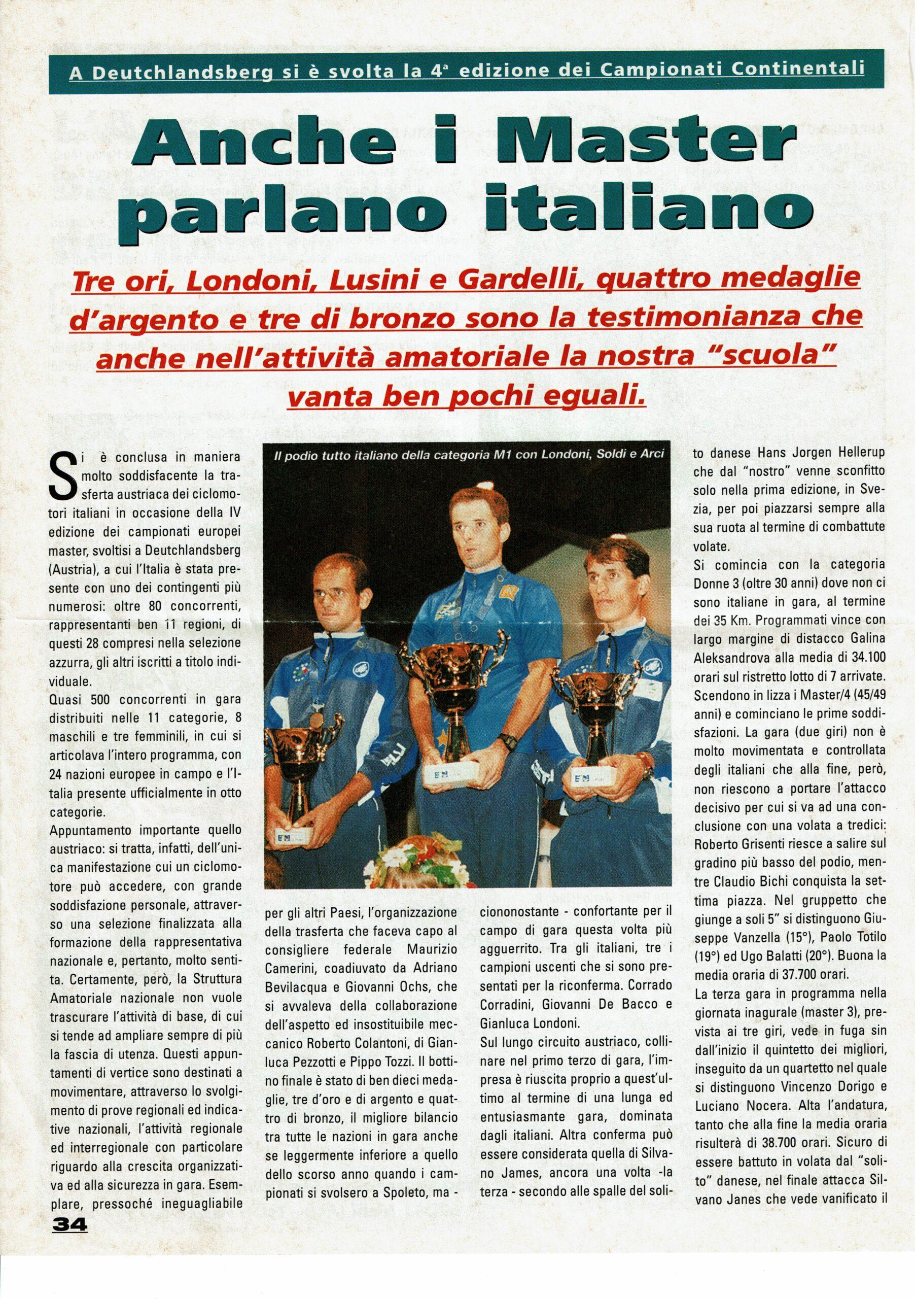 25_1 Europei Agosto 1999