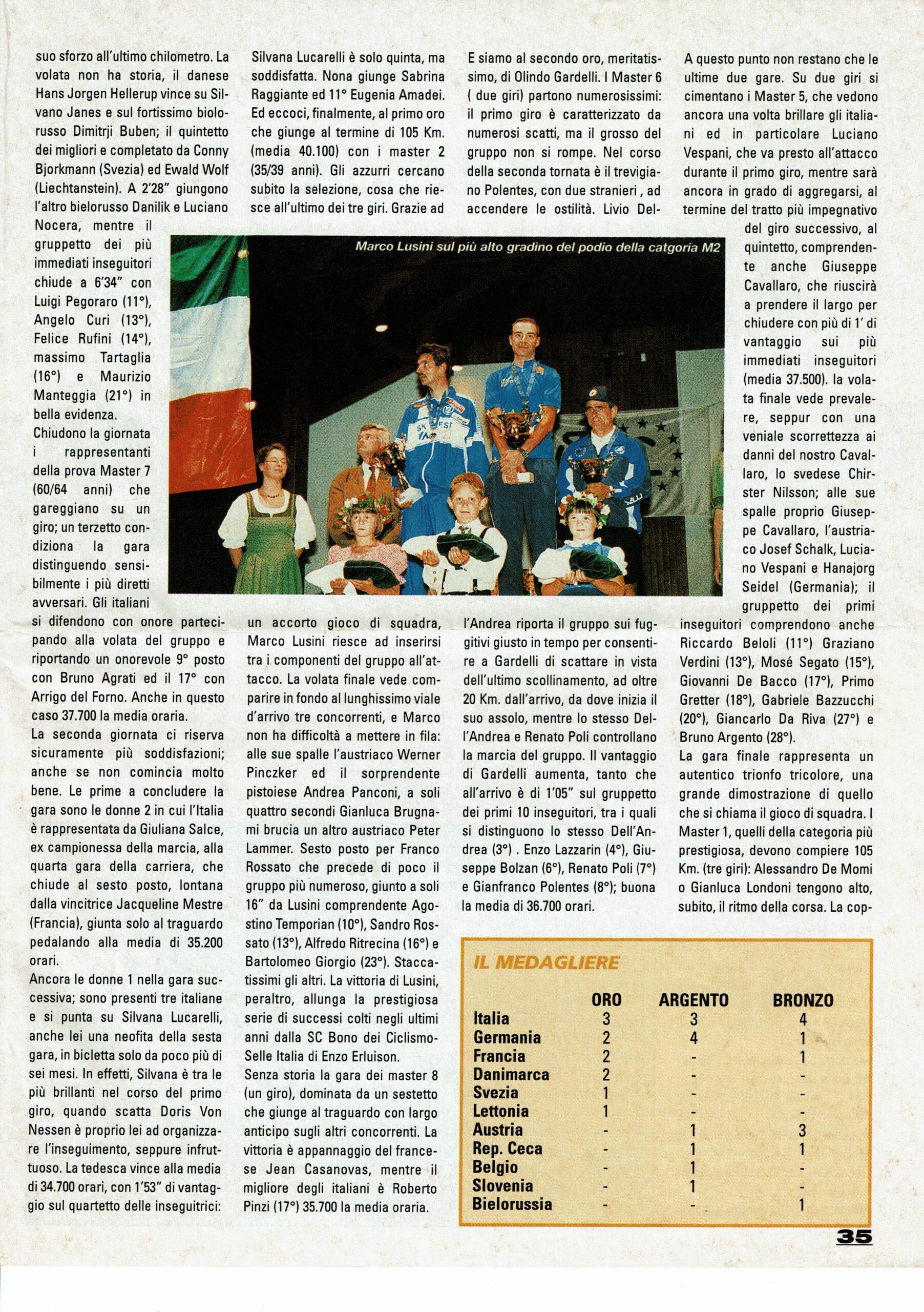 25_2 Europei Agosto 1999