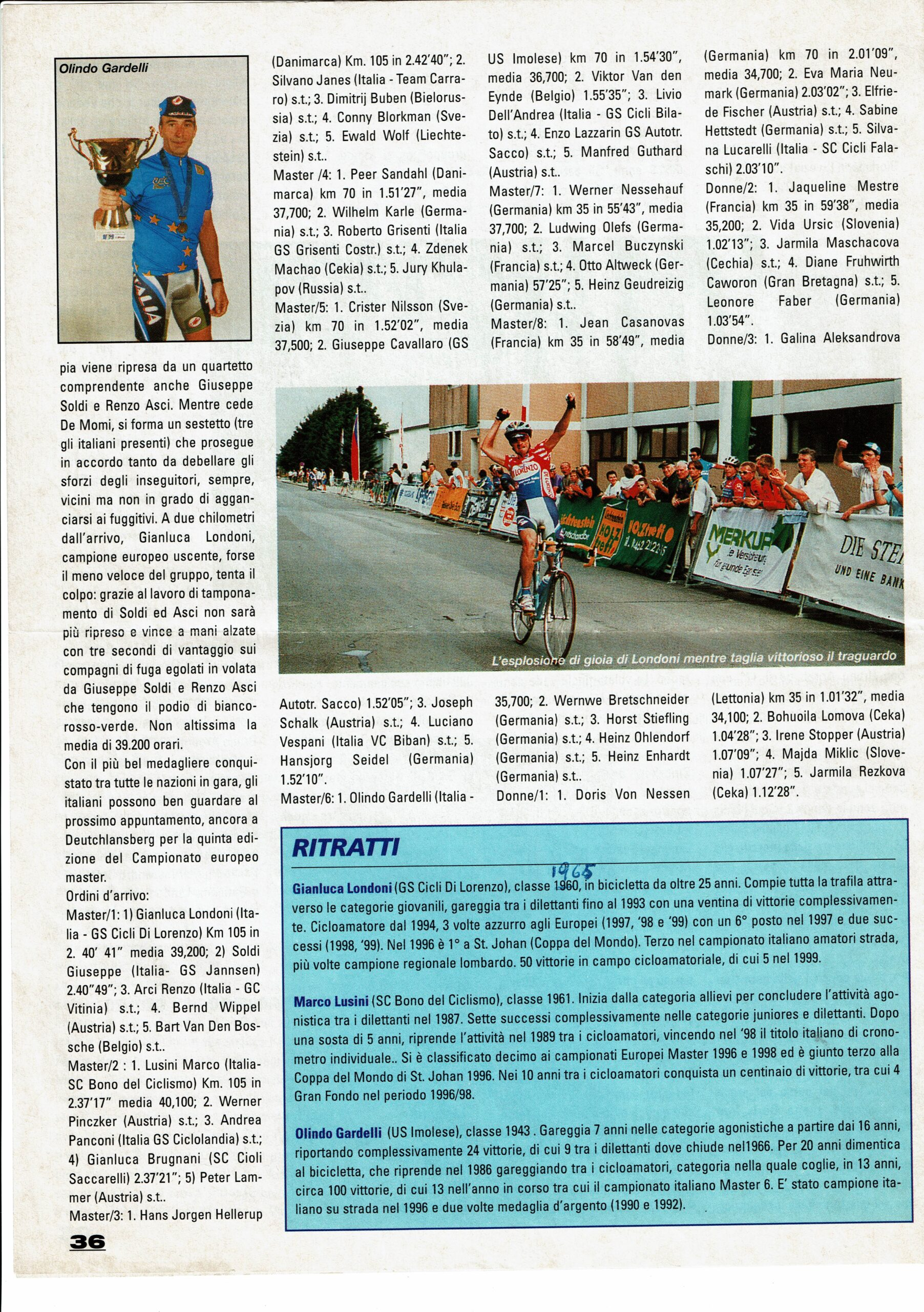25_3 Europei Agosto 1999