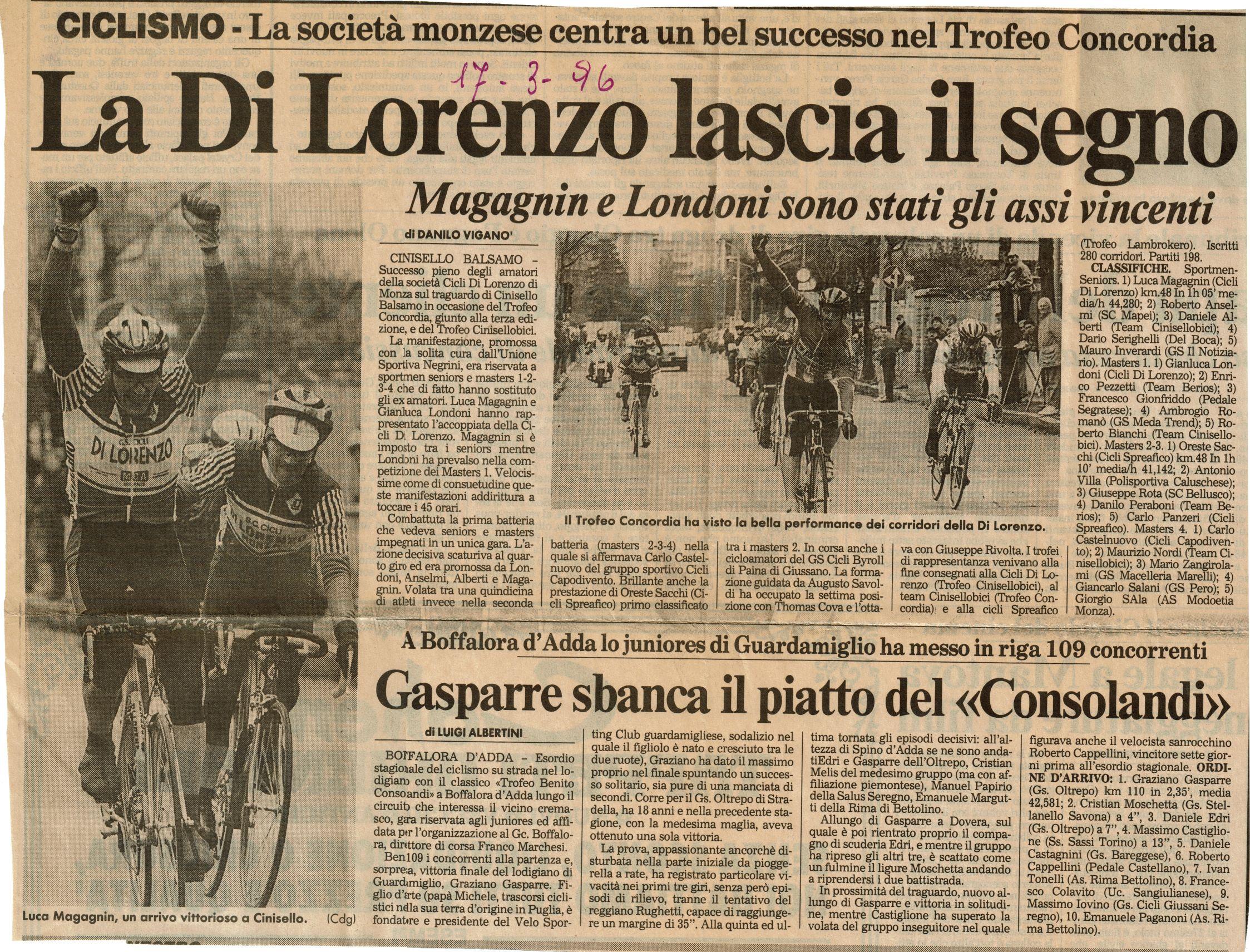 6 17 marzo 1996
